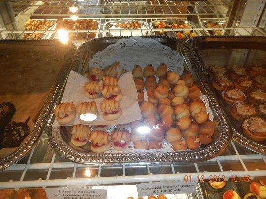 Gio's Gelato and Italian Pastry: almond paste snails