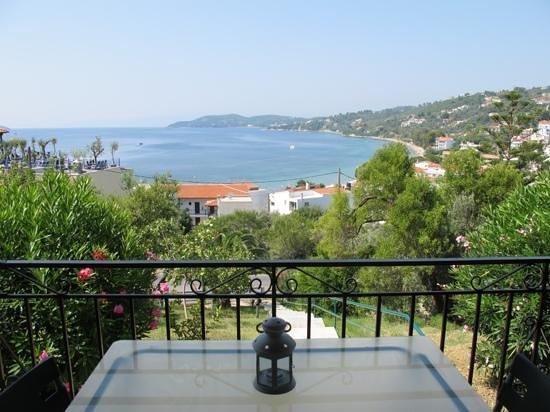 Villa Anna: vista dal balcone della camera