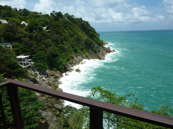 Paresa Resort Phuket: Cliff view
