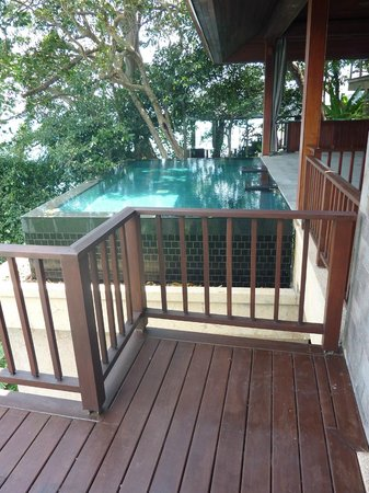 Paresa Resort Phuket: Our private infinity pool