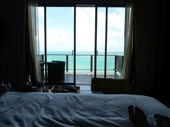 Paresa Resort Phuket: View from bed