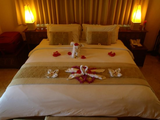 Hotel Vila Lumbung : our bed