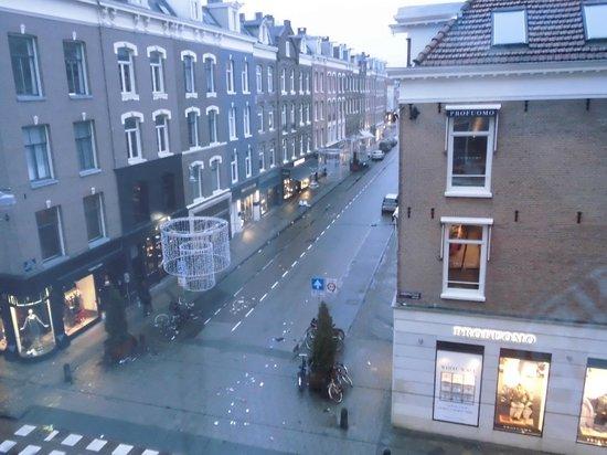 Hotel Cornelisz : vista dalla camera n. 106
