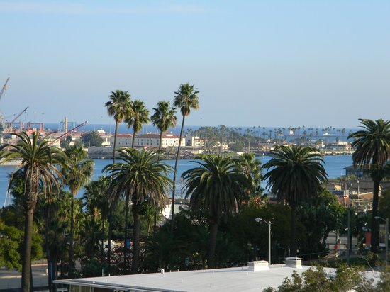 Crowne Plaza Los Angeles Harbor Hotel: The view