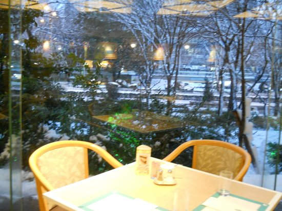 All Day Dining Jurin: 雪景色