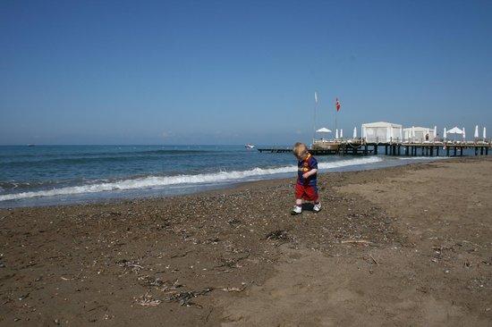 Voyage Belek Golf & Spa: heerlijk schoon strand