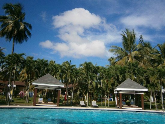 Waterfront Insular Hotel Davao: Pool and Grounds