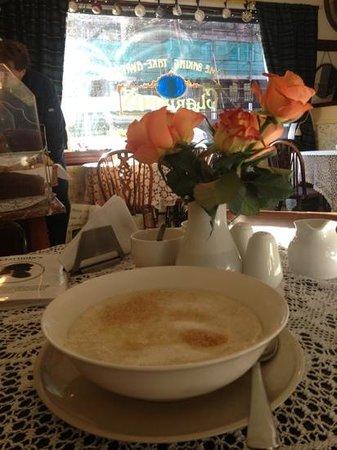 Clarinda's Tea Room: il mio porridge