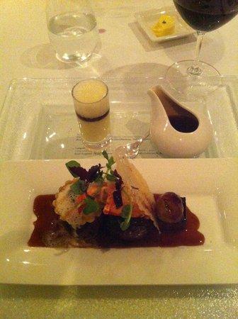 Ocean Restaurant: Beef with liquid dauphinnoise