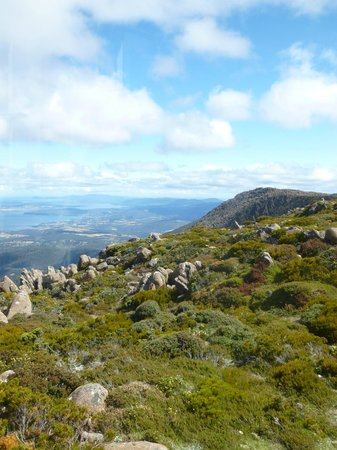 Hobart, Australie :                                                       Mount Wellington