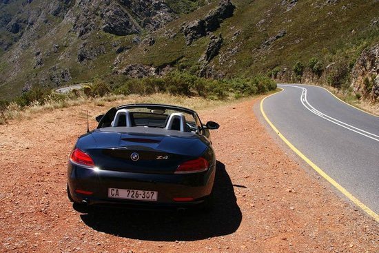 De Verdwaalde Boer : Driving to Franschoek