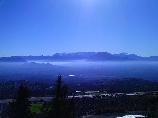 Baeza, Spagna: Sierra Nevada desde el mirador