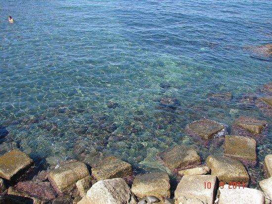 Procida, Italia: eau limpide
