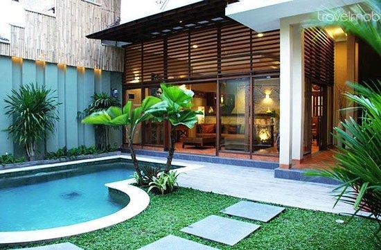 Villa Jeruk: Pool area