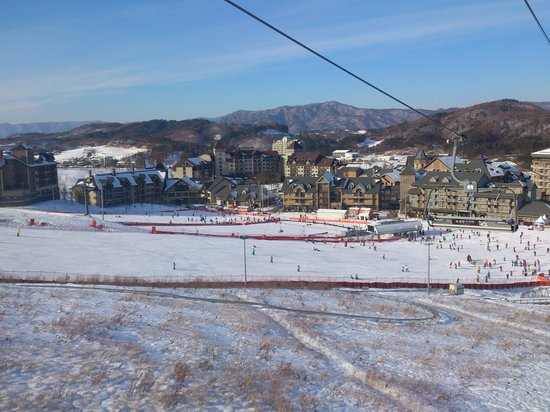Holiday Inn and Suites Alpensia Pyeongchang Suite: view of the resort