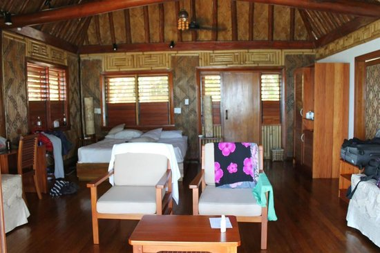 Toberua Island Resort: Our room