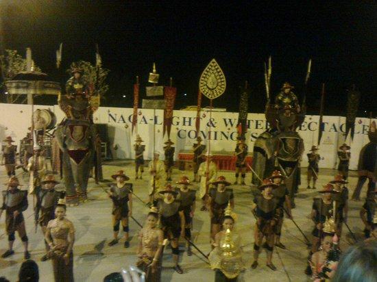 Siam Niramit Phuket: Pre-show 