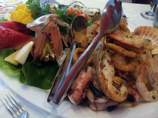 Petar's Seafood: Seafood platter