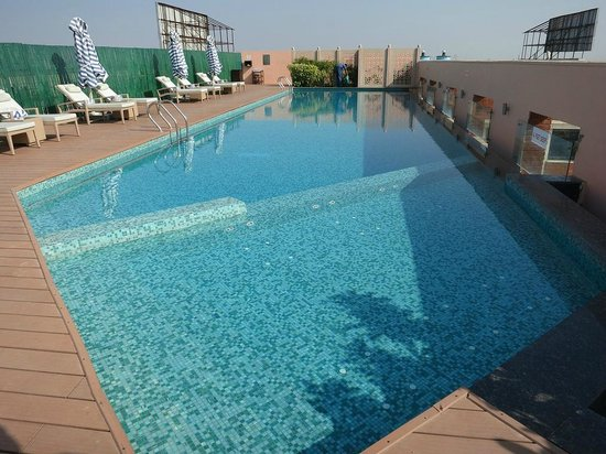 Hotel Royal Orchid, Jaipur: Roof top pool
