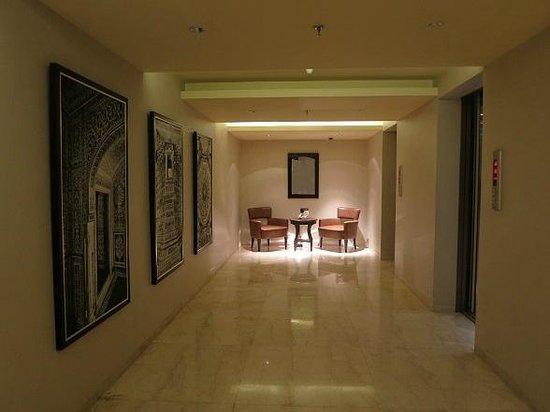Hotel Royal Orchid, Jaipur: corridor
