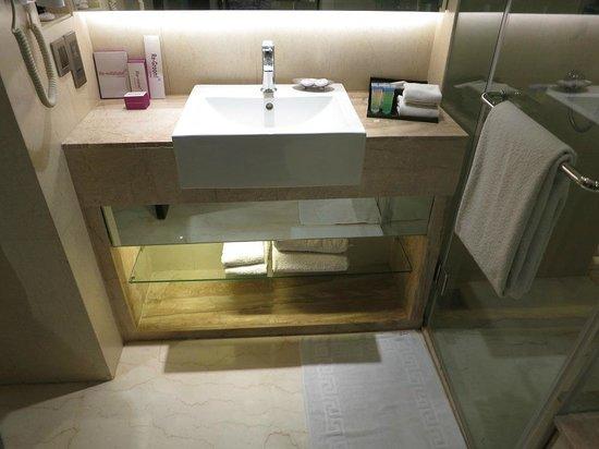 هوتل رويال أوركيد: bathroom