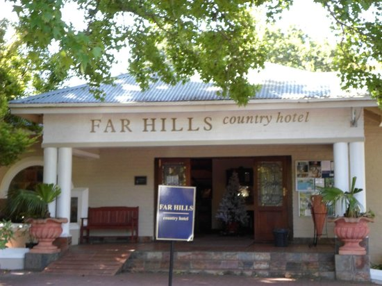 Far Hills Country Hotel: Entrance