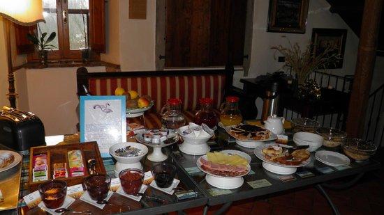 Relais Parco Fiorito: colazione