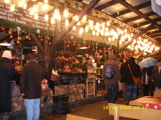 Promenade City Hotel: the christmas market