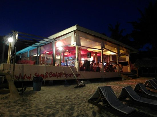 Samui Beach Resort: The resort restaurant