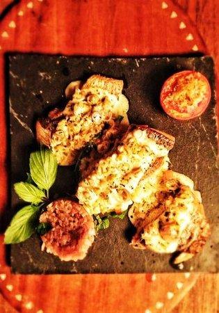 Tantra Restaurant :                   lemon grass & sea bass