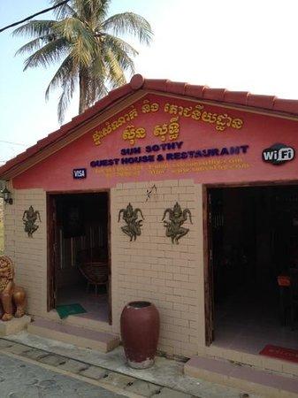Sun Sothy Guesthouse: Wunderschönes Gästehaus etwas ausserhalb von Siem Reap. Absolut zu empfehlen!!!