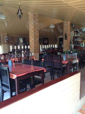 Sun Sothy Guesthouse: Gutes Restaurant mit ausgezeichneter Küche. Tipp: Pizza essen