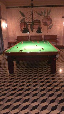 Usha Kiran Palace: 100 Years old Billiards Table