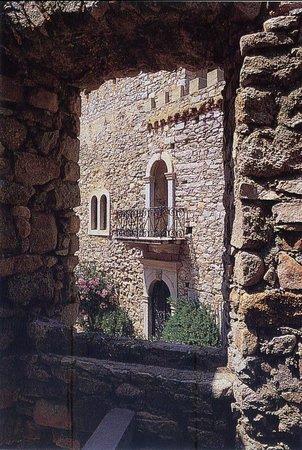 U Castellu : Château d'Algajola (détail)