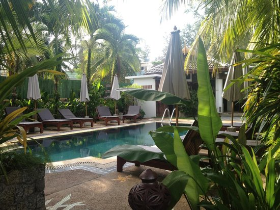 Bangtao Beach Chalet: Pool Area