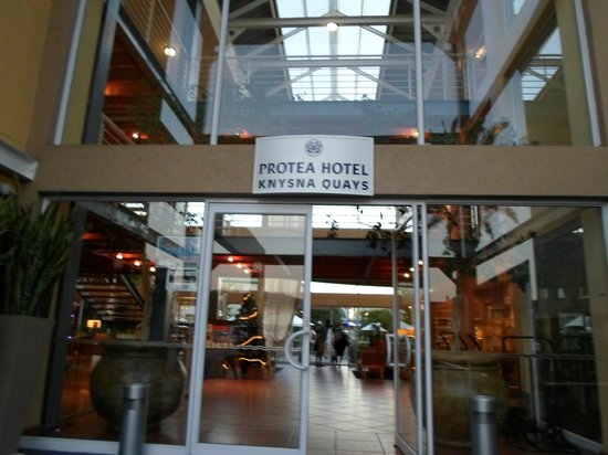 Protea Hotel by Marriott Knysna Quays: Entrance