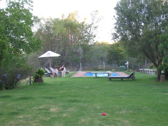 Thabile Lodge: Pool area