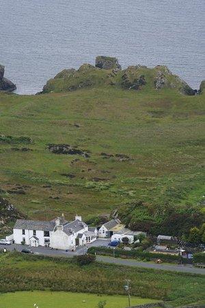 Tigh Na Suil B&B: ancient Dunyveg castle
