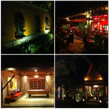 Rocky's Boutique Resort: night view
