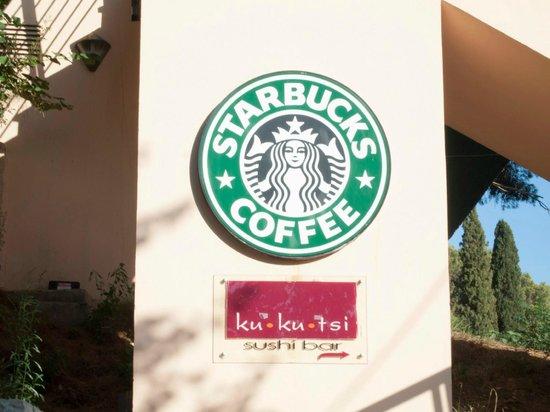 Starbucks: Sign