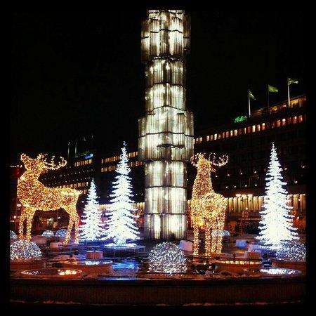 Radisson Blu Waterfront Hotel: Ambientación navideña en las cercanias