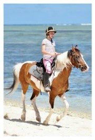Centre Equestre De Riambel: Even the smaller ones can do it!