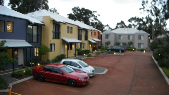 Forte Leeuwin Apartments: two storey chalets,view from my chalet