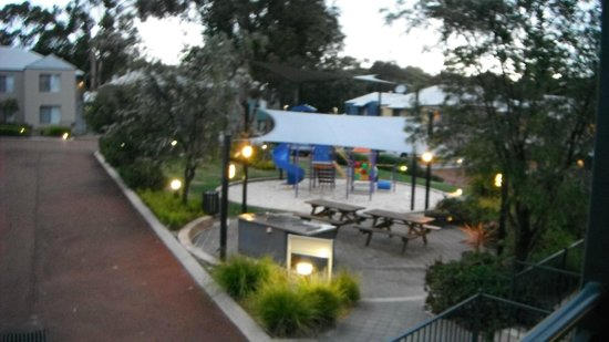 Forte Leeuwin Apartments: BBQ and children playground.