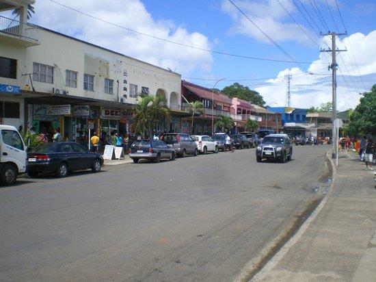ฌ็อง-มิแชลคุสโต ฟูจิไอส์แลนด์ รีสอร์ท: Pic of Savu Savu Town (5 mins from resort)