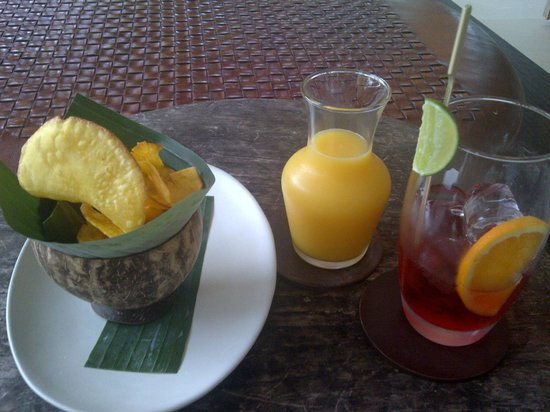 COMO Uma Ubud: Drinks
