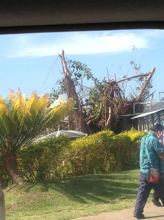Jean-Michel Cousteau Resort - TEMPORARILY CLOSED: Cyclone damage in Nandi Town