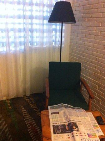 Stevie G Hotel: sudut kamar yang nyaman