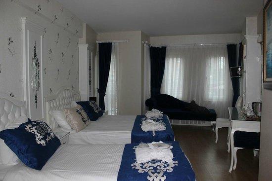 Sarnic Premier Hotel: Bizim otaq