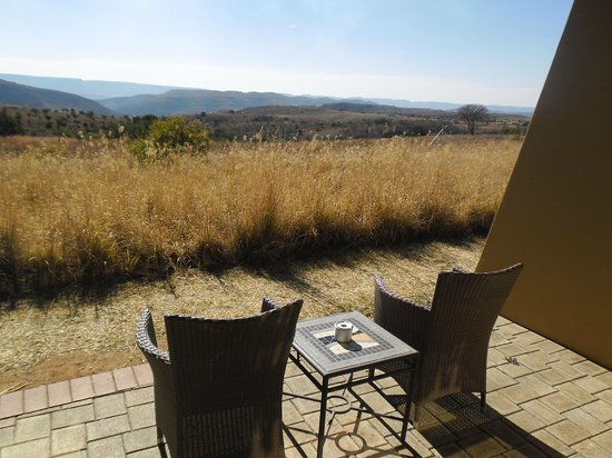 Maropeng Boutique Hotel: View